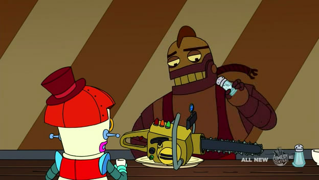 futurama robot dating Futurama pictures robot devil and bender on futurama futurama pictures futurama's titanic the crew warn fry against dating a robot.